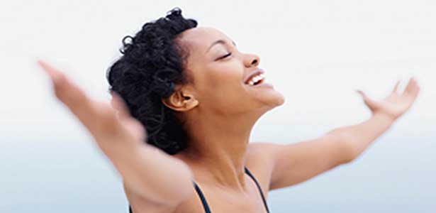 woman with arms out embracing celibacy lifestyle