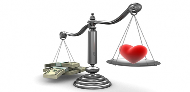 money over love scales