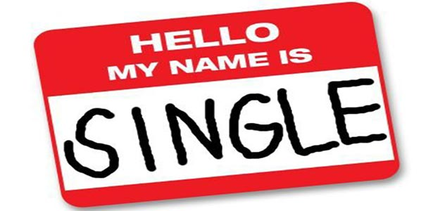 name tag my name is single woman
