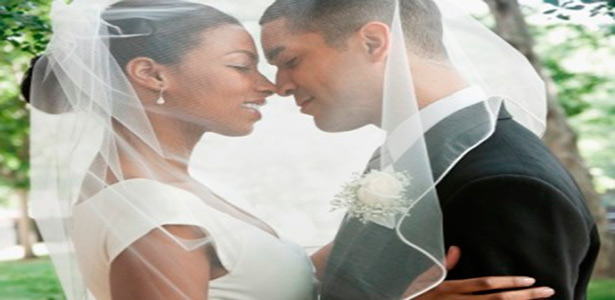 black couple say yes to marriage