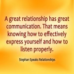 picture quote on communication
