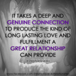 relationship quotes about genuine connection