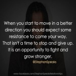 grow stronger life quote