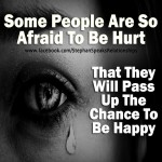 afraid to be hurt relaionship quote