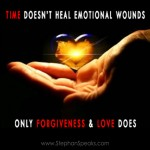 time does not heal love quote