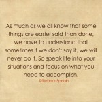 say it do it motivational quote
