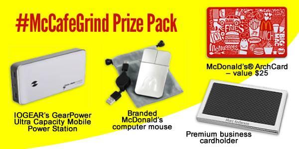 McCafeGrind Prize Pack Image